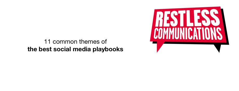 Social Media Playbooks