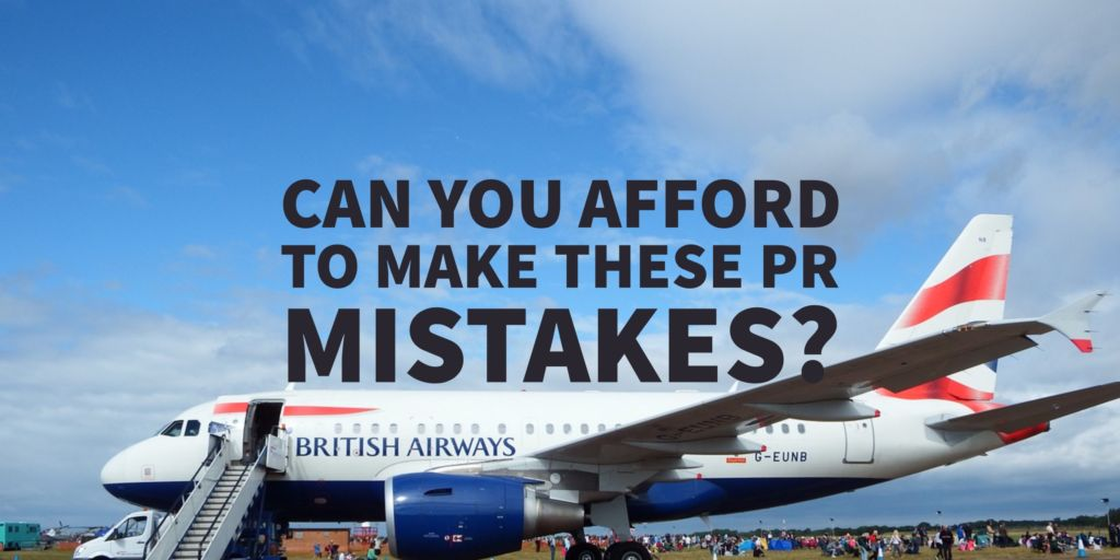 British Airways Crisis Communications Fail